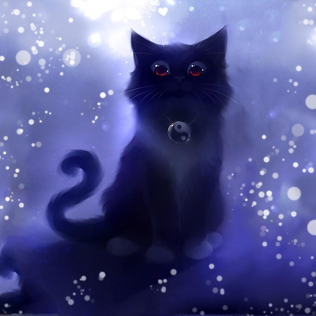 Рисунок кота стили