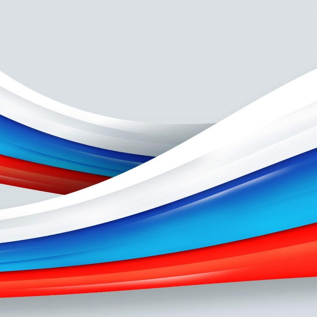 Скачать обои Россия флаг лента фон раздел текстуры в   сохраняет её