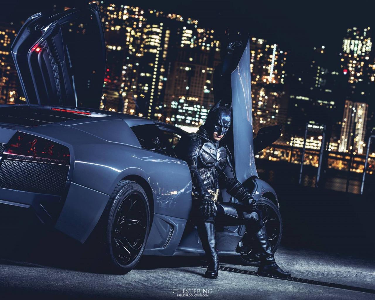 chester бэтмен и ламборджини