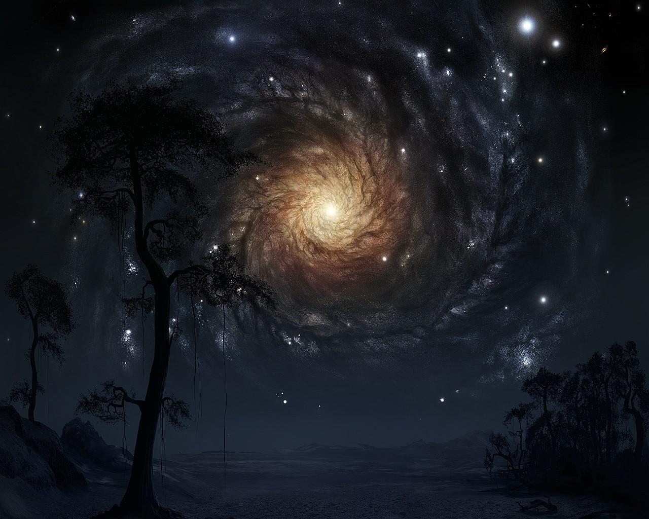 космос мистические картинки холсте