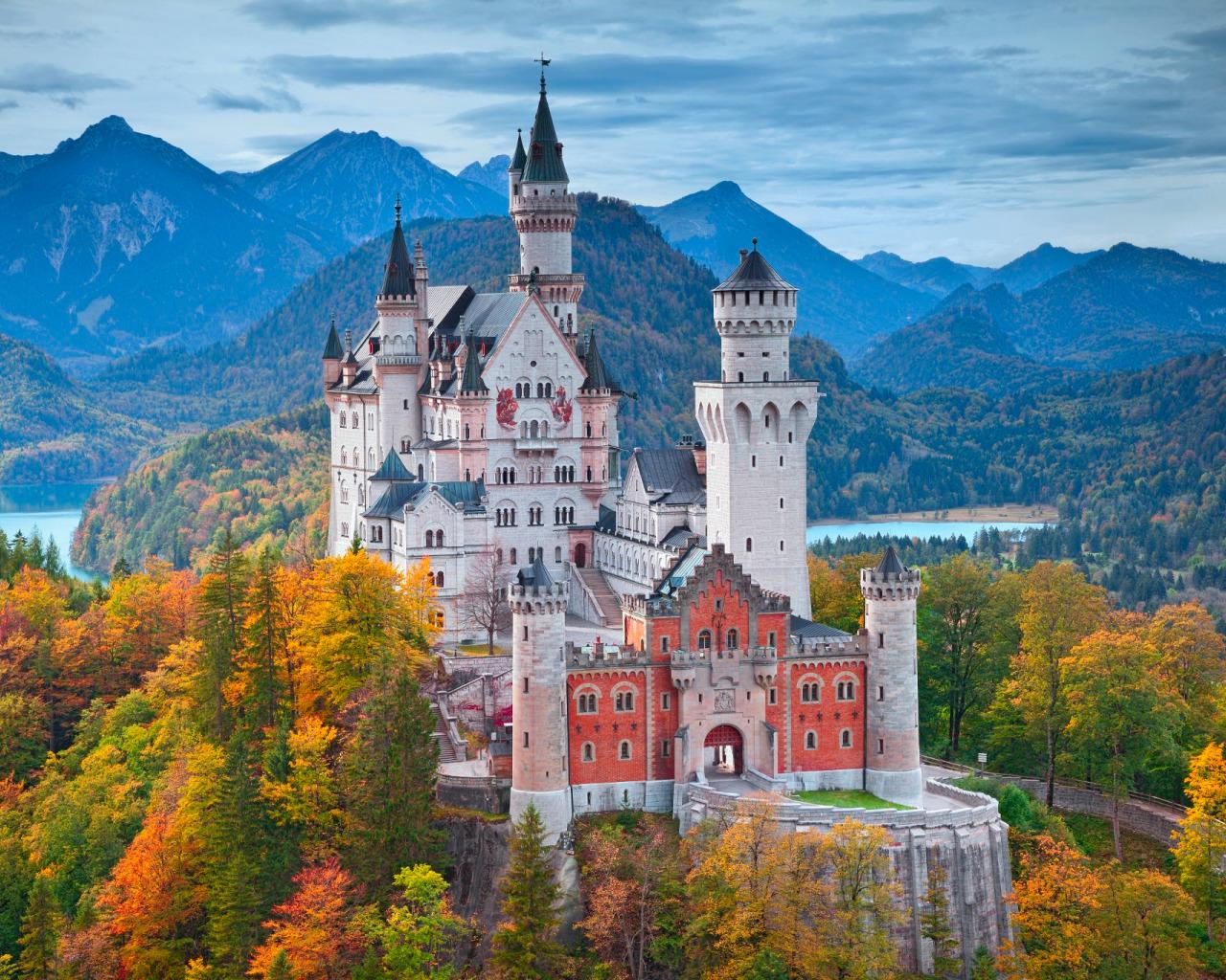 Обои юго-западная, бавария, германия, замок. Города foto 7