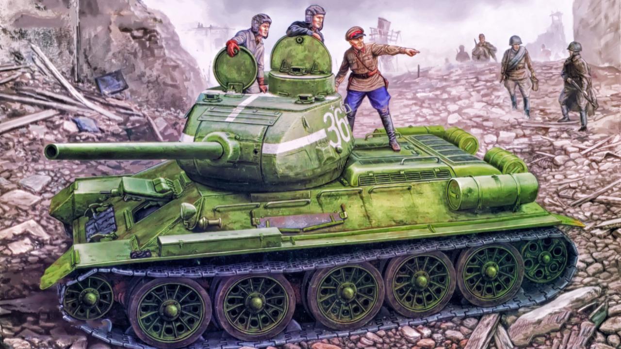 WWII Battle Tanks T34 vs Tiger PC  Test Download