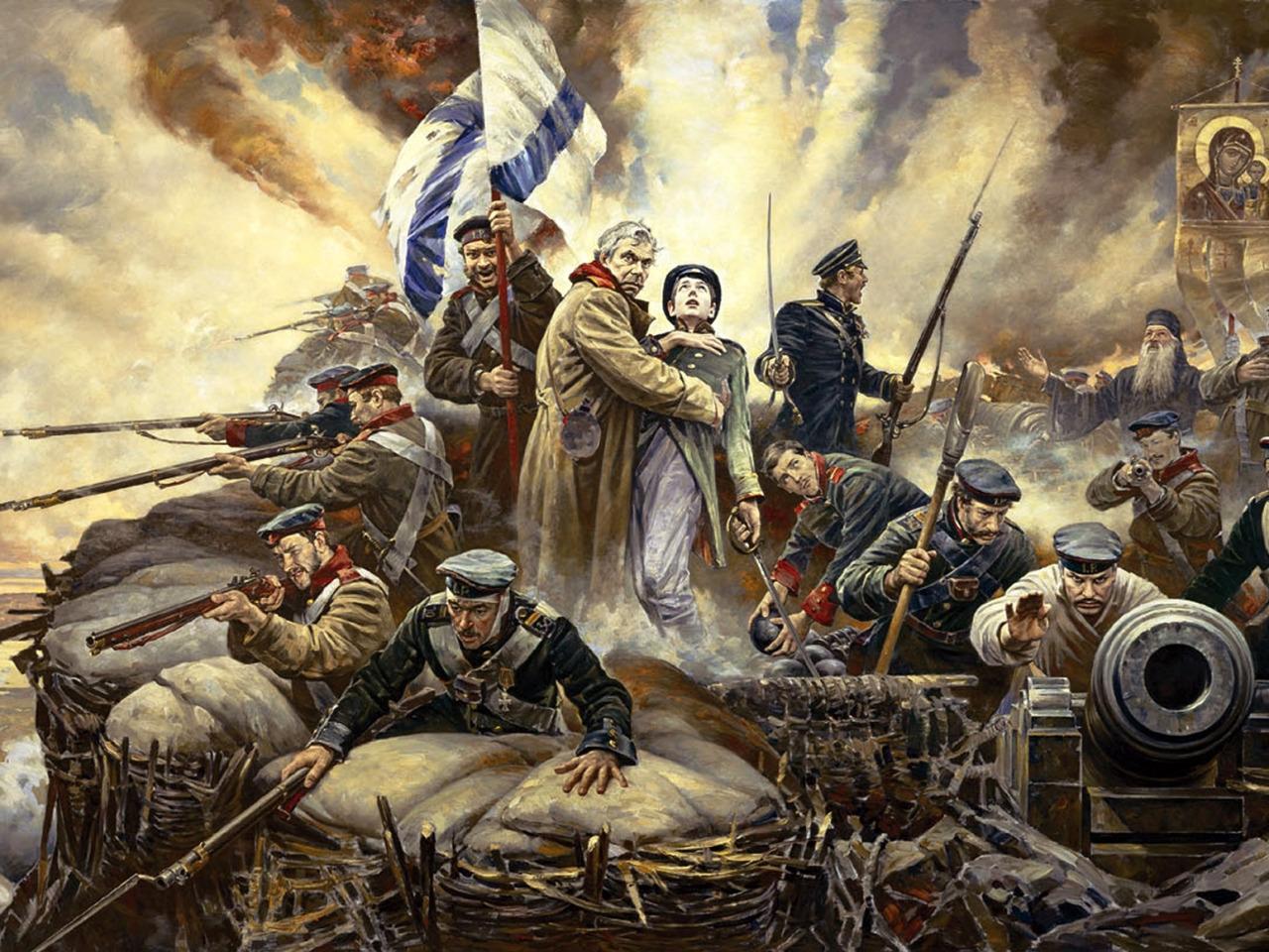 Оборона Севастополя в Крымской войне 1853-1856гг.