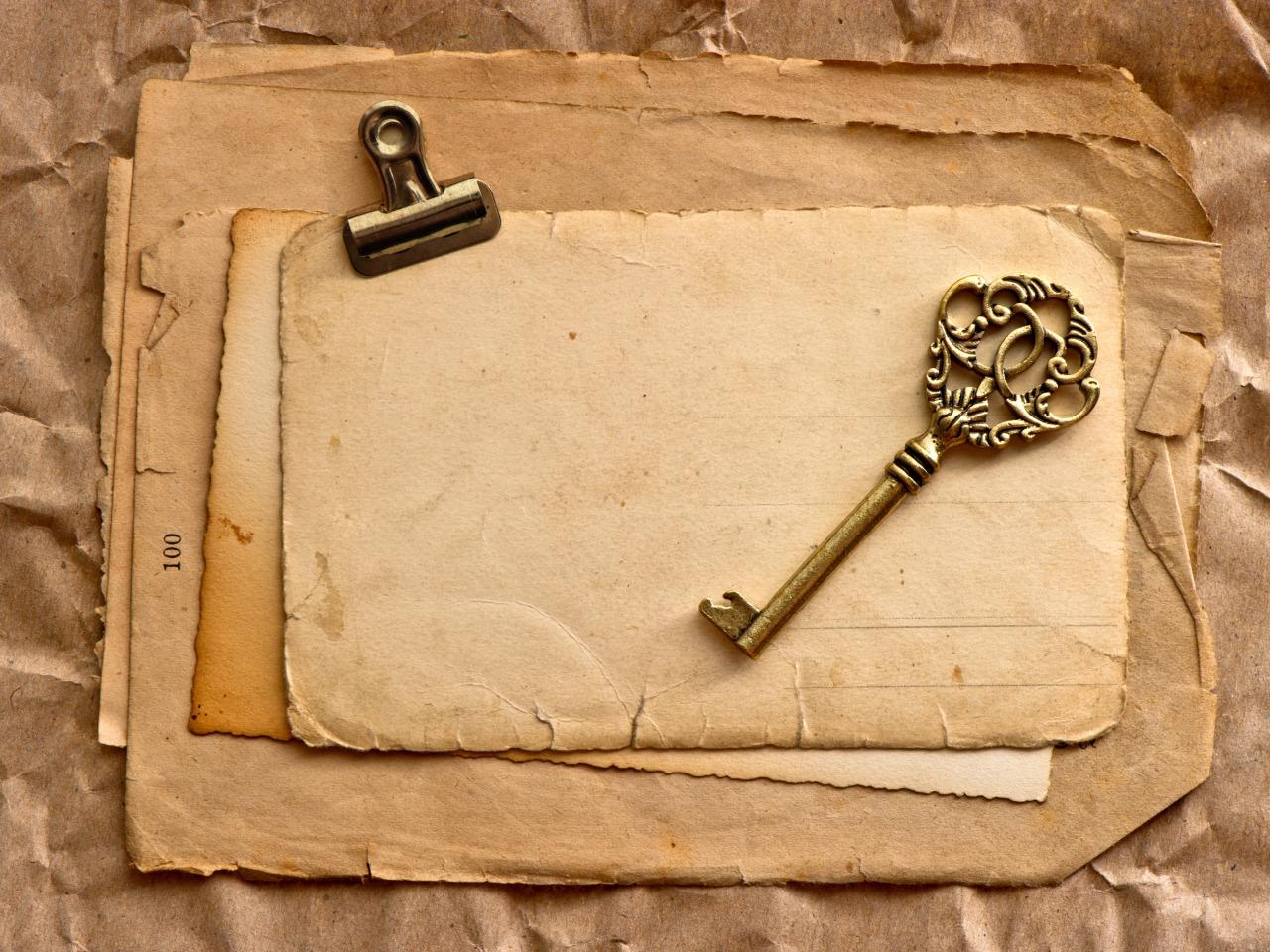 Открытки ключ