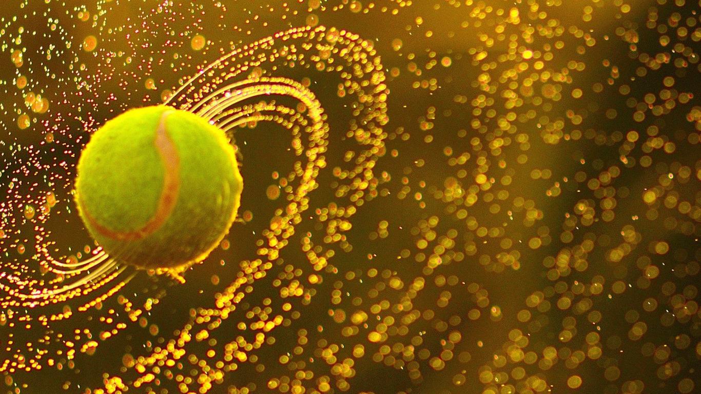 теннисный мяч  № 1367160  скачать