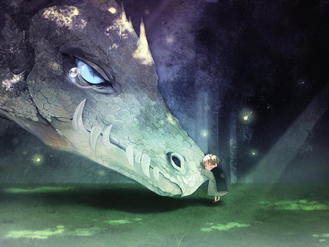 the smallest dragon boy