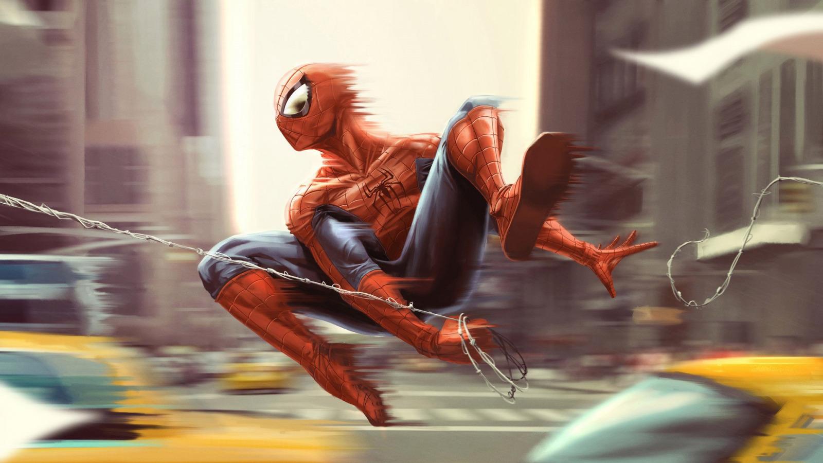 человек паук прыжок  № 3316418 загрузить
