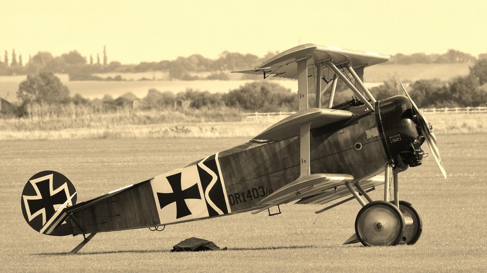 Обои сил, триплан, Fokker dr.1, военно-воздушных, истребитель. Авиация foto 8