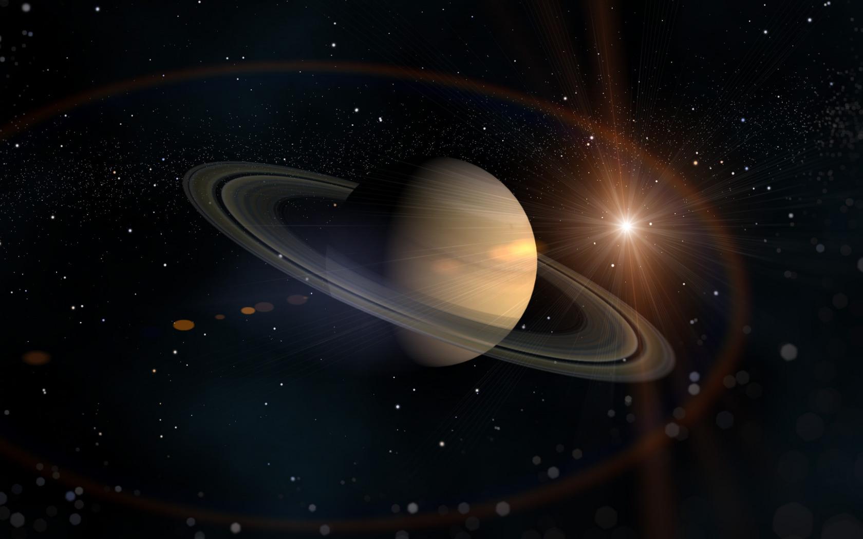 Картинки с планетой сатурн, зима