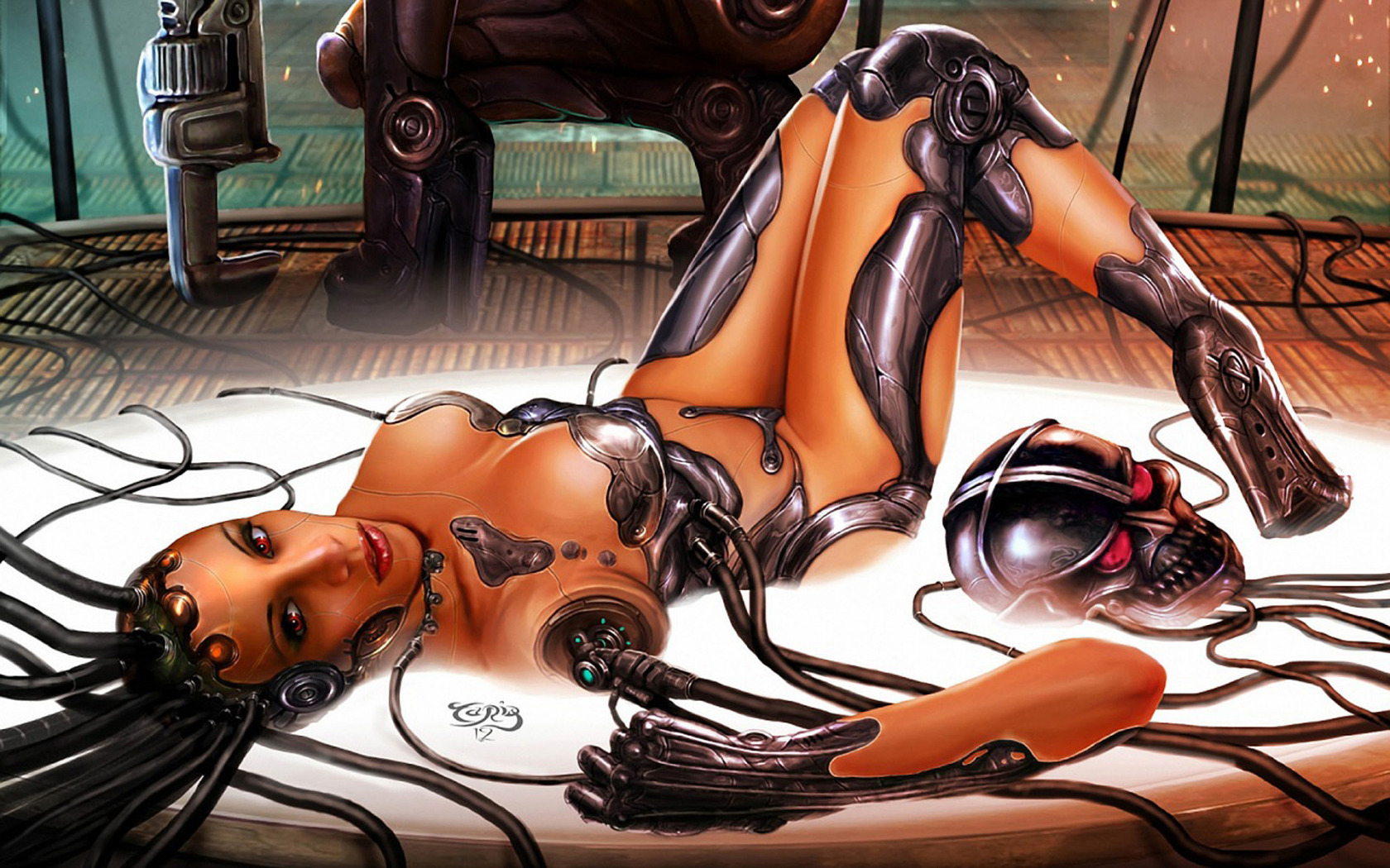 Download erotic game robot nude pic