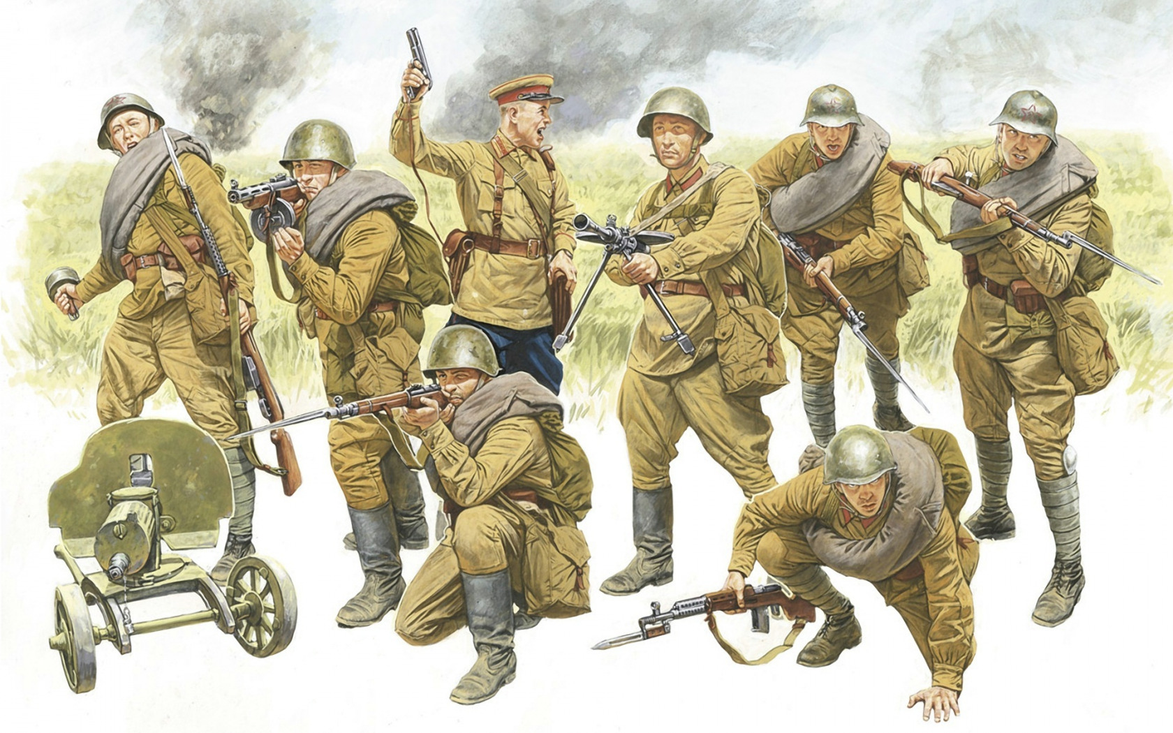 День защитников, советская армия картинки для детей