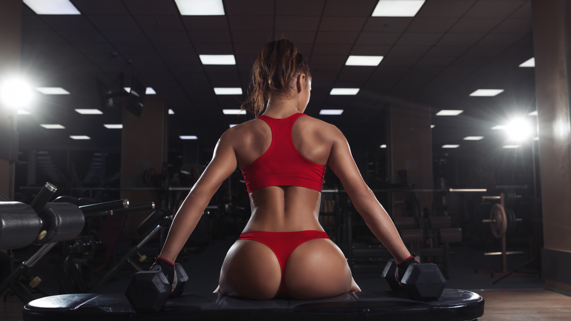 Sexy fitness hot