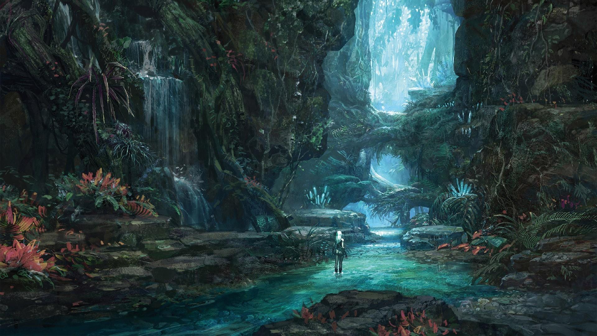 Фантастические картинки джунглей