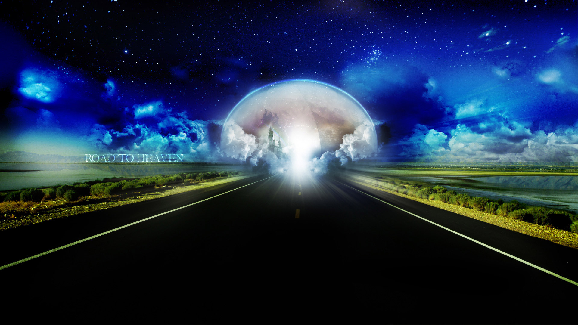 картинки на рабочий стол дорога в небеса это
