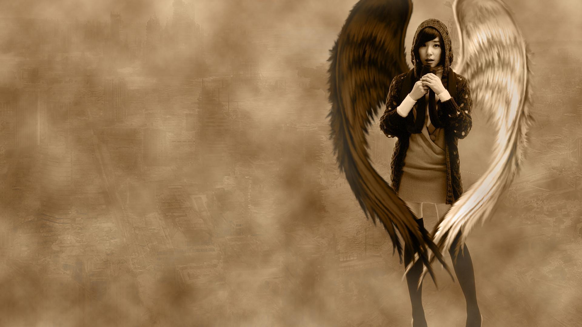 Картинки для рабочего стола крылья ангела