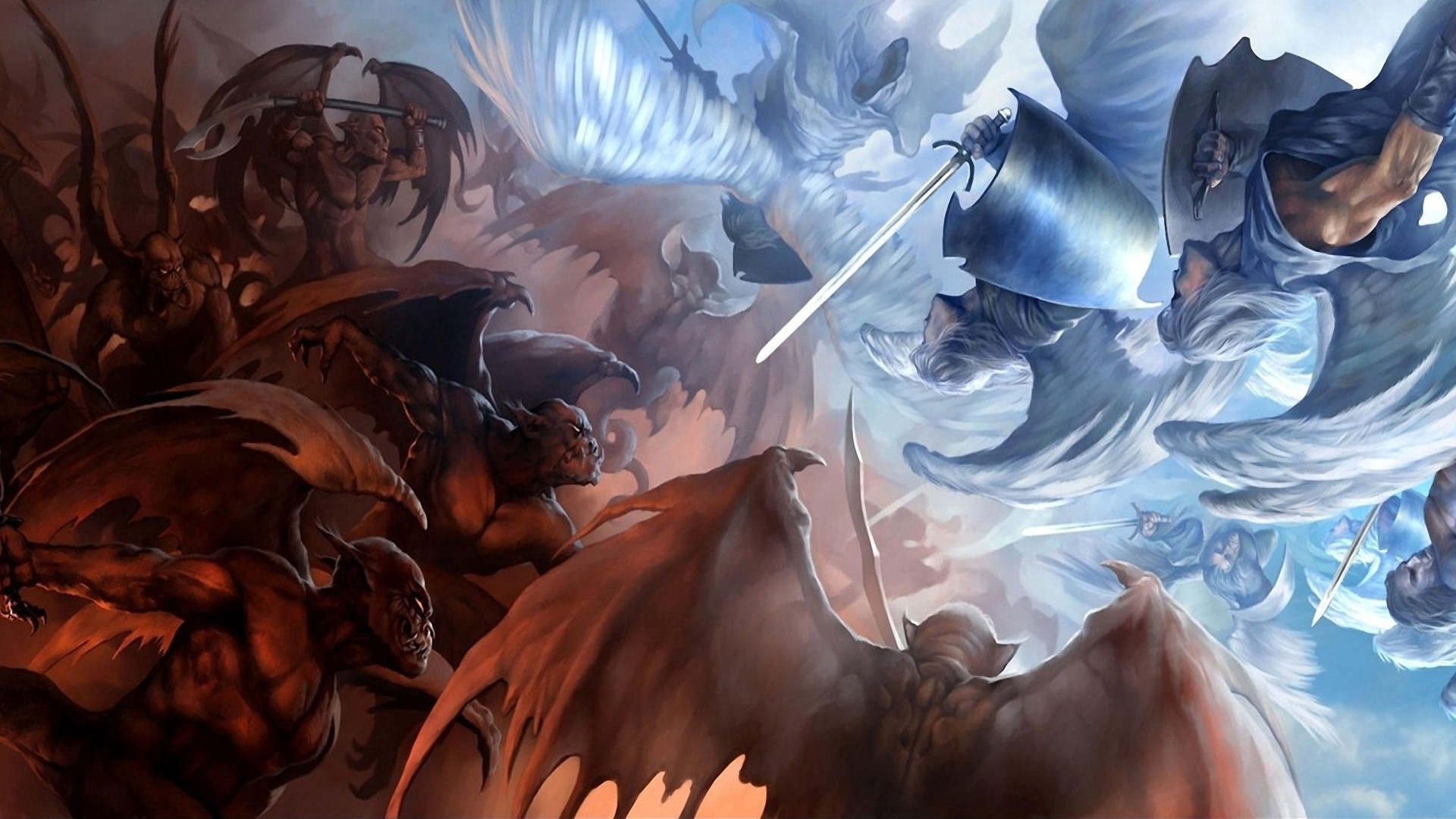 angel vs devil - HD1920×1080