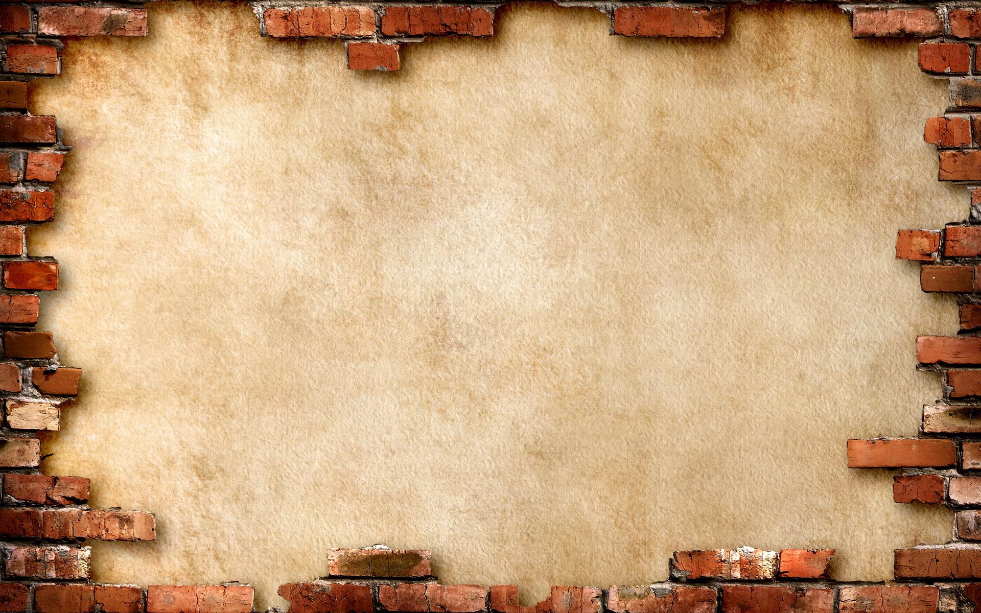 стена кирпичи раскол  № 3916049 загрузить