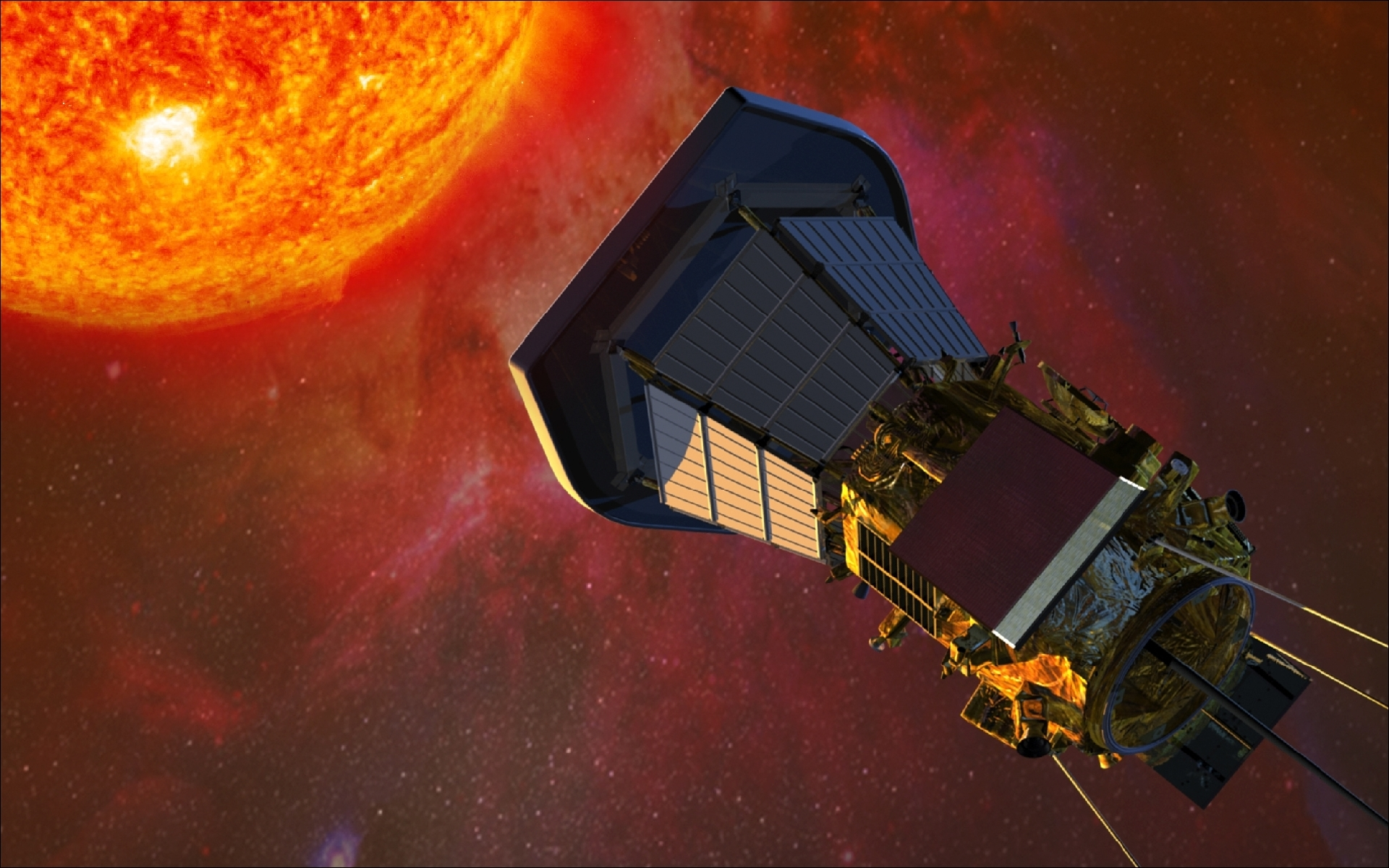 nasa sun mission - HD 1680×1050