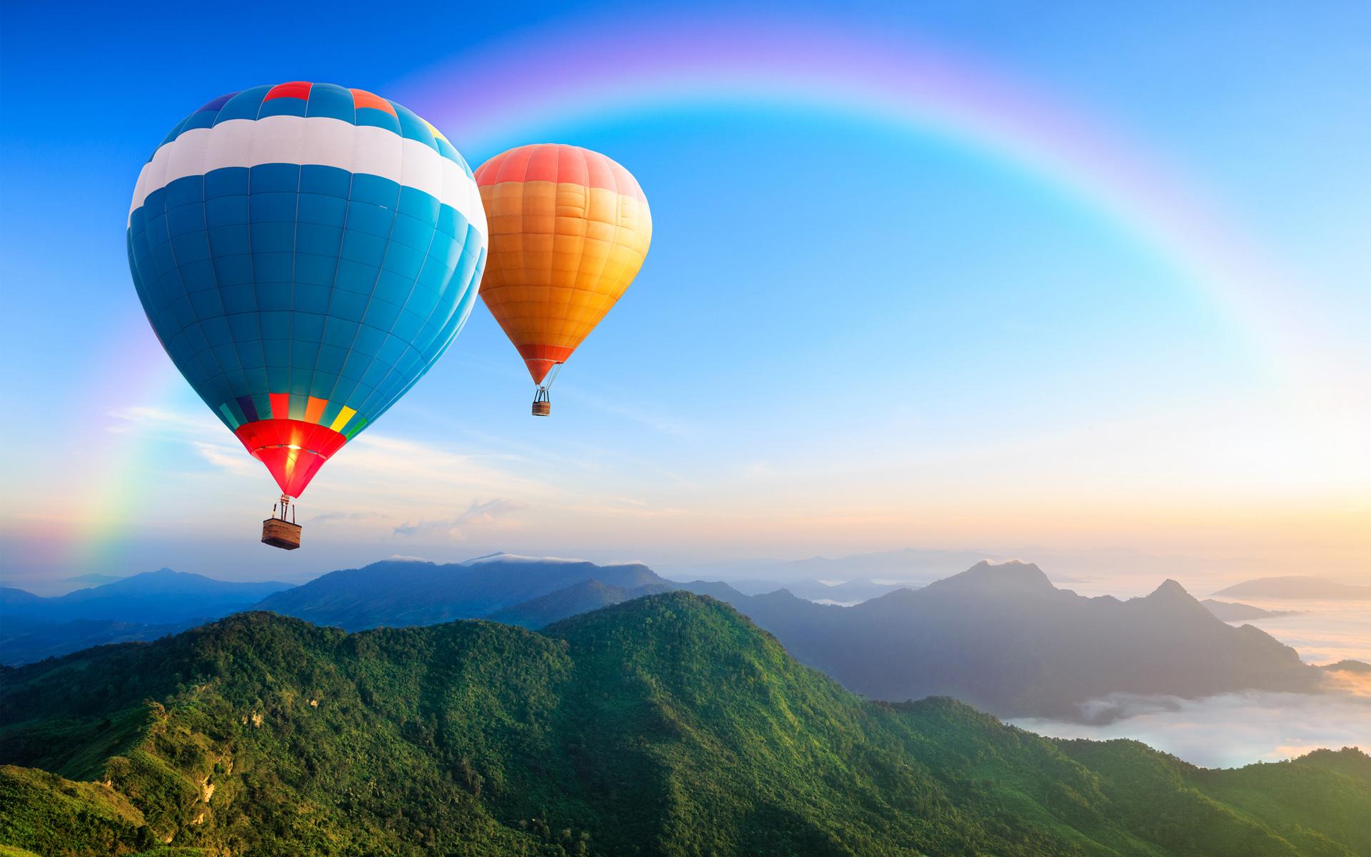 Воздушные шары для путешествий картинки правильно