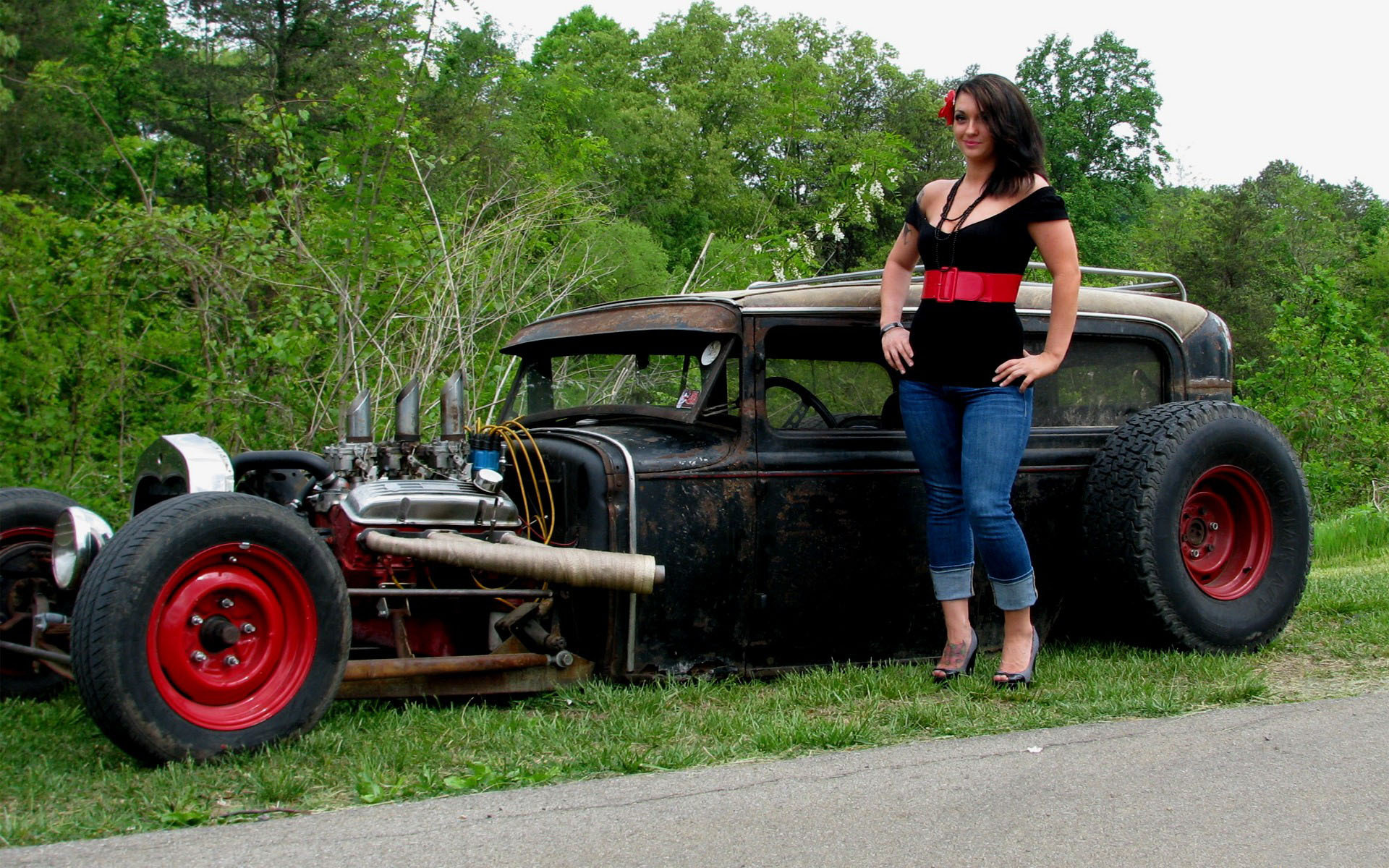 Ratrod chicks pics, naked pitcher of ino