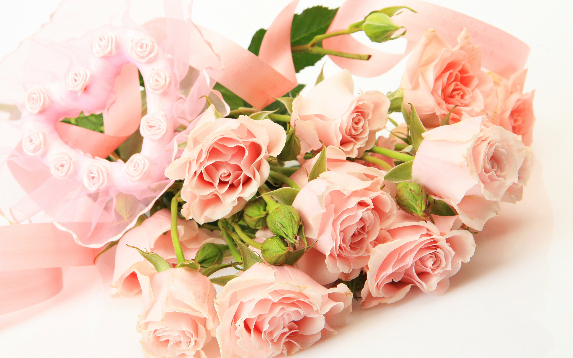 Букет цветов нежный