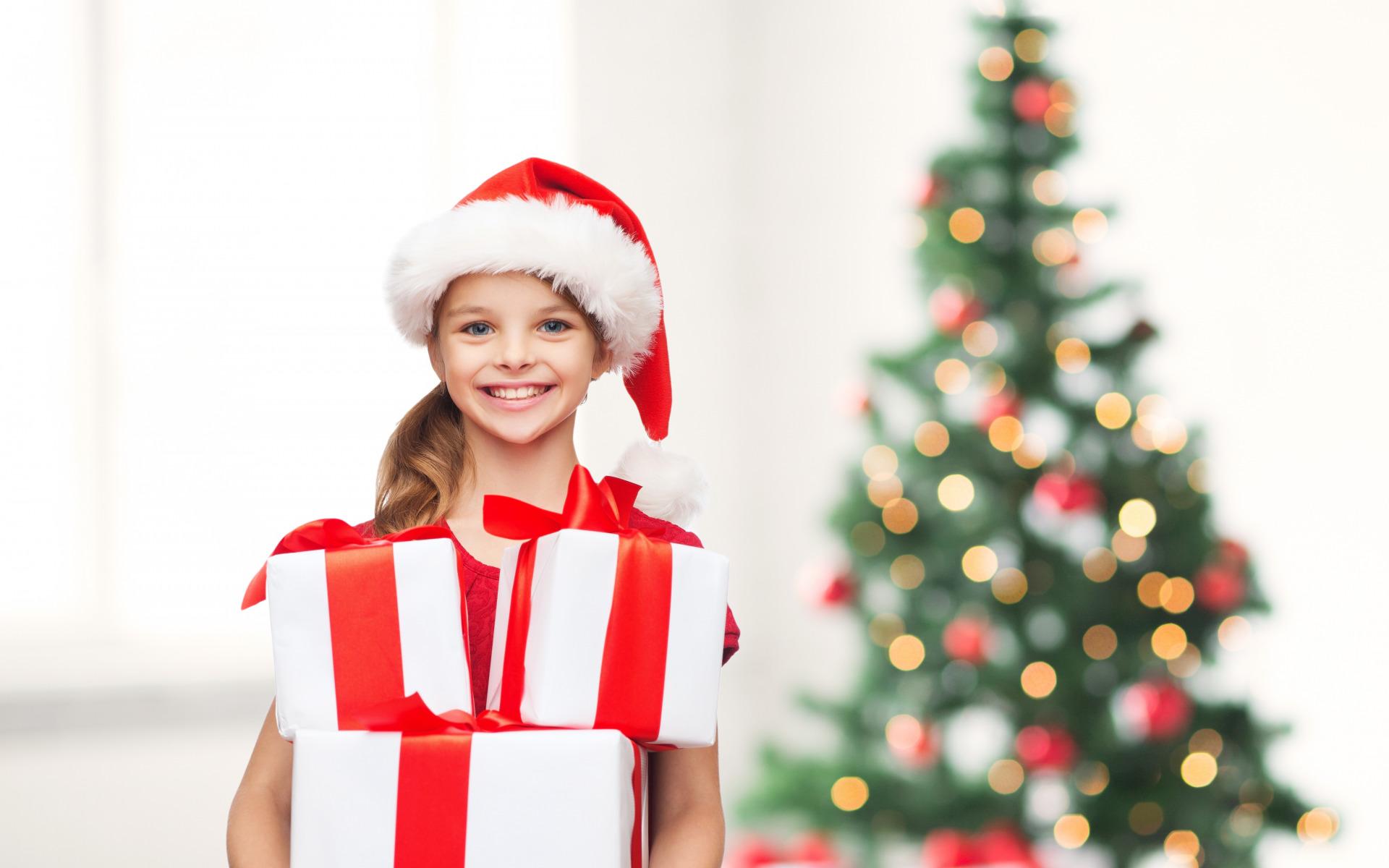 Сладкие новогодние подарки - лучший выбор для детей