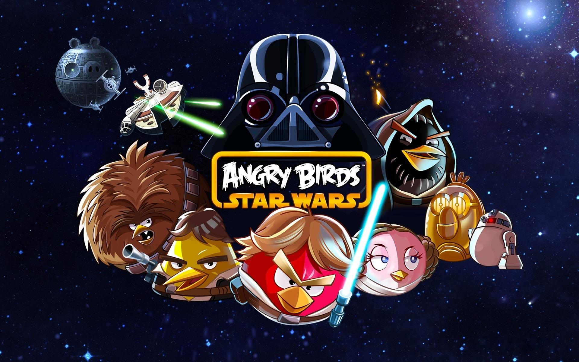 Энгри бердз звездные войны птицы картинки