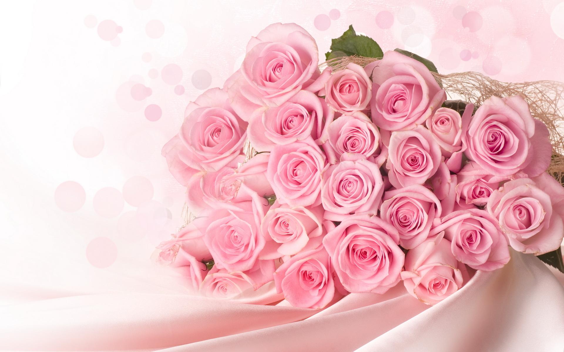 Открытки с цветами розовых роз, понедельник начало