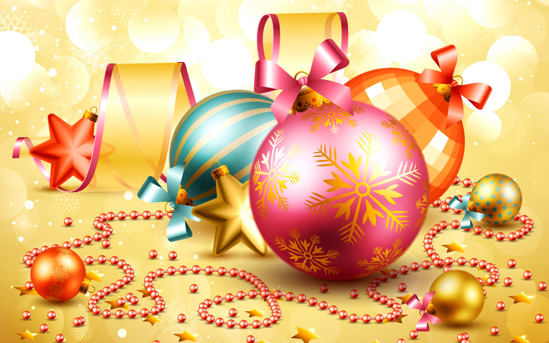 новый год картинки шарики года