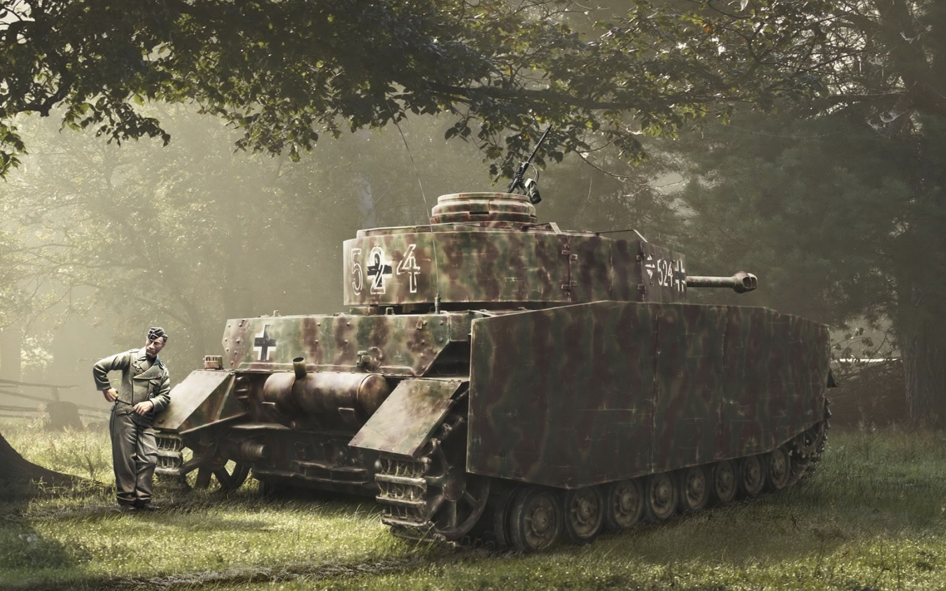 Оружие танкистов второй мировой