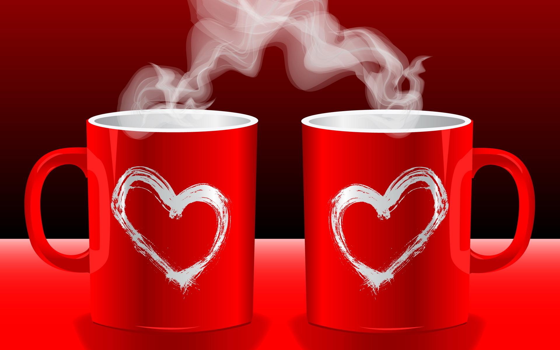 Открытки чай для двоих, айрис фолдинг