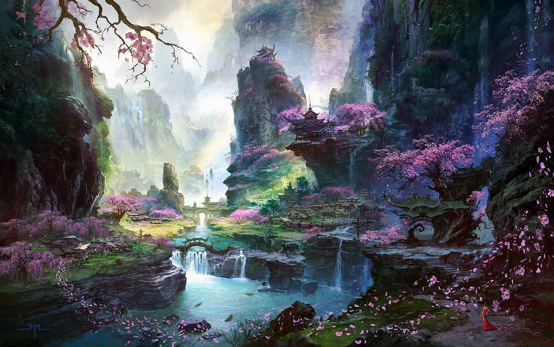 Фото сказочных пейзажей мира лучшие