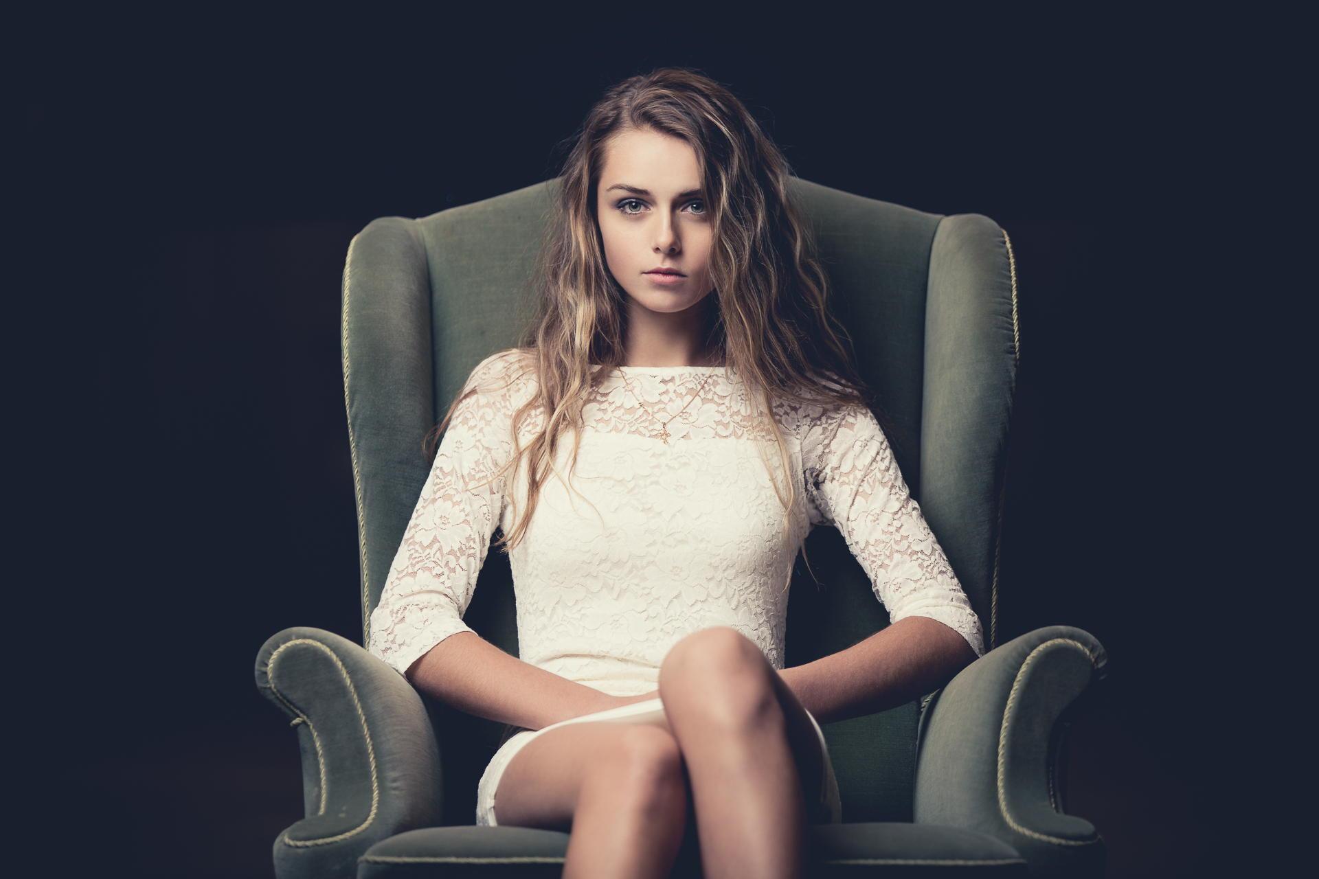 Фотосессия на кресле 25 фотография