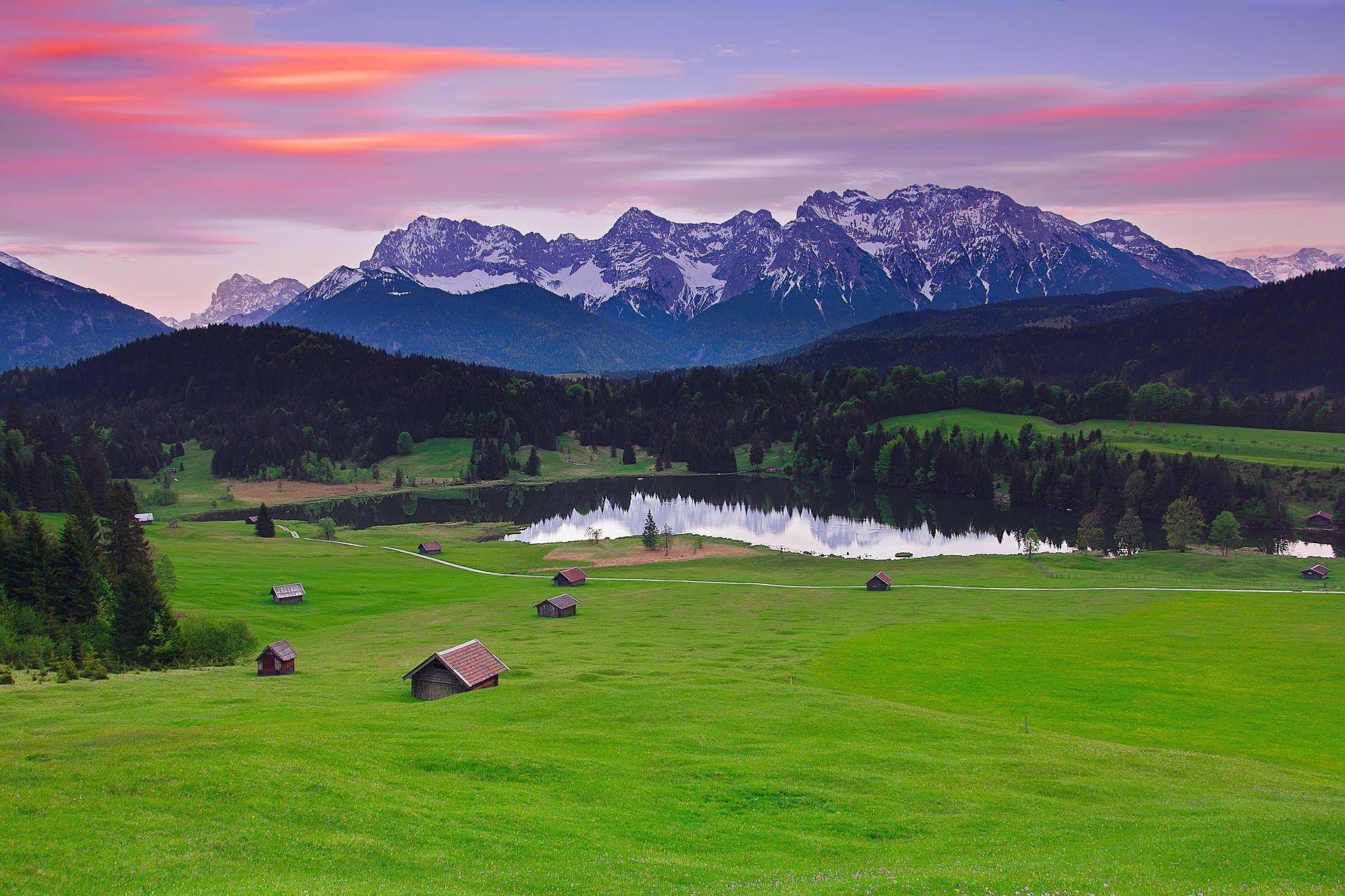 Доломитовые Альпы, Италия (28 фото)