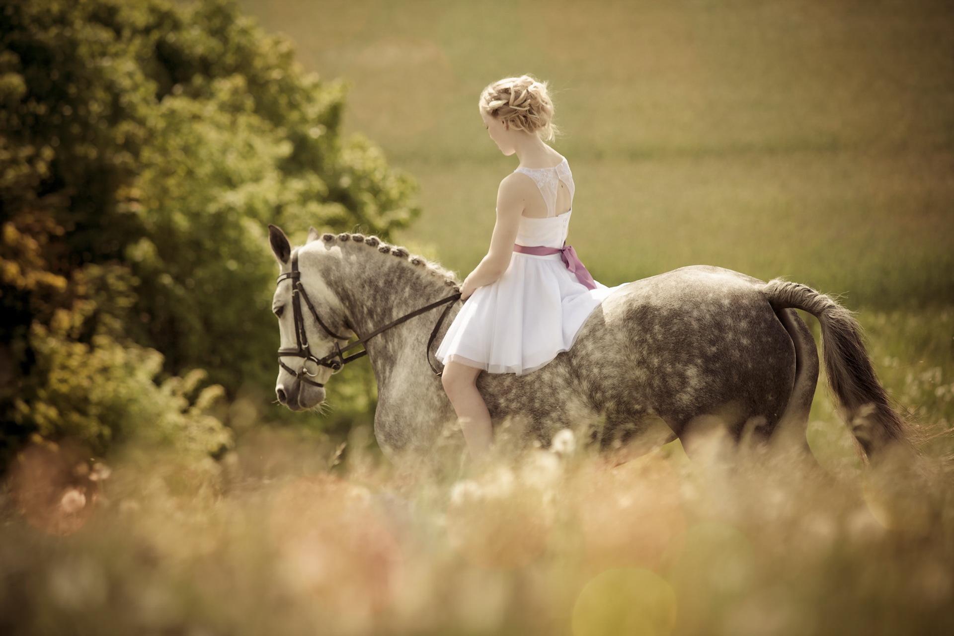 девушка лошади  № 1819016 без смс