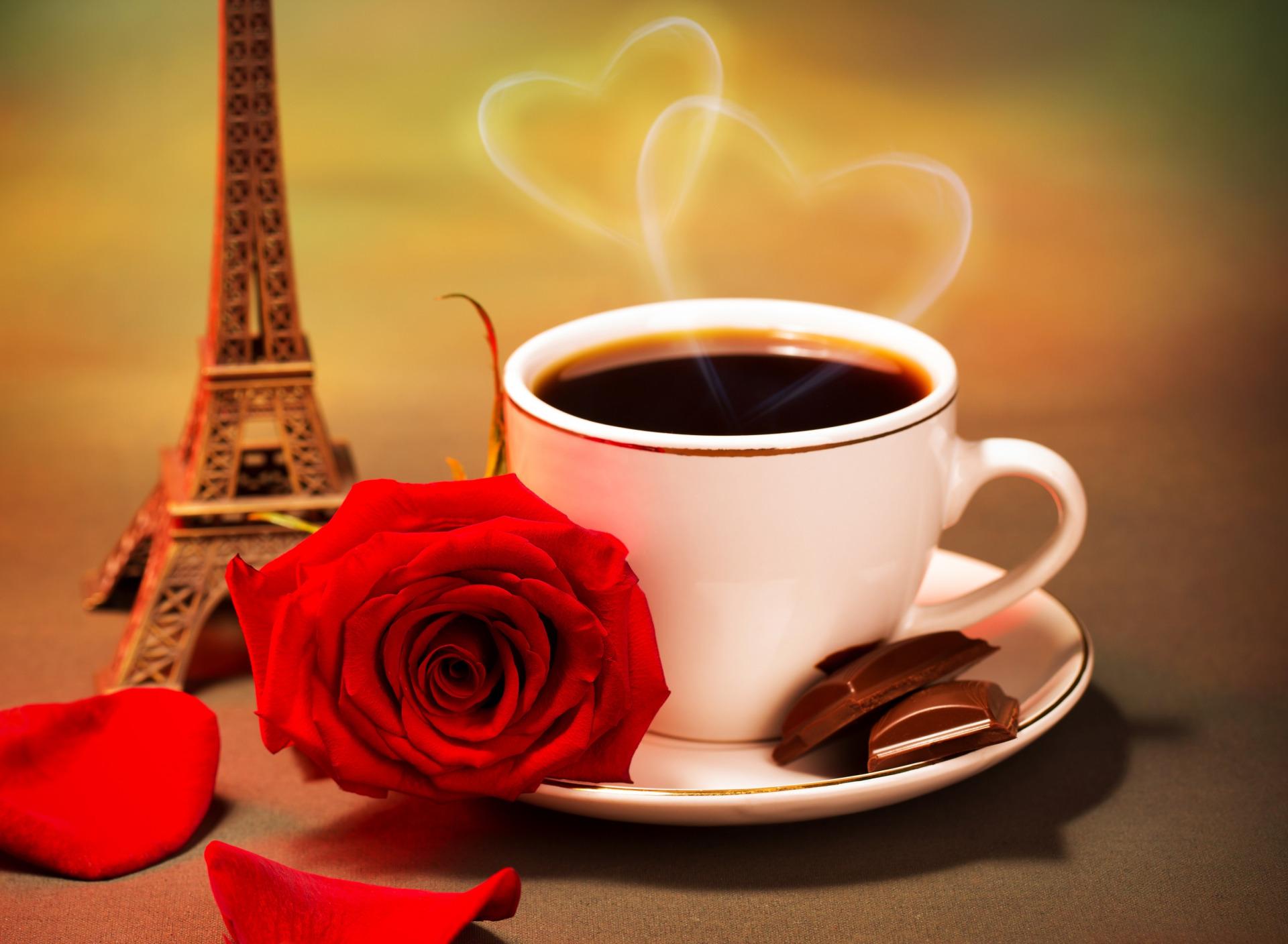 кофе шоколад и цветы картинки анимация которые кушали эту