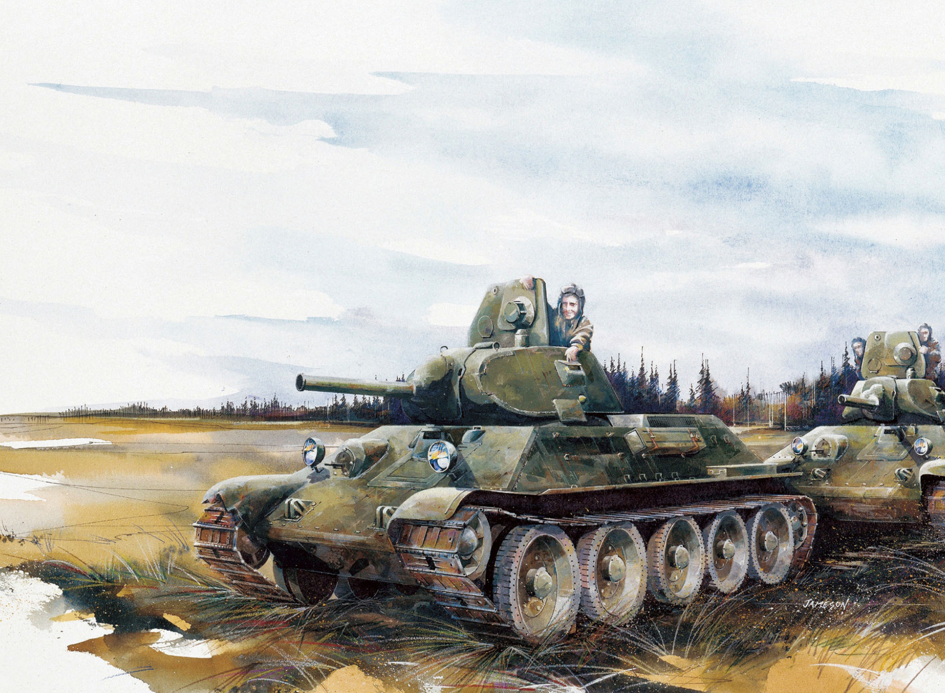 Делать, открытки с танком