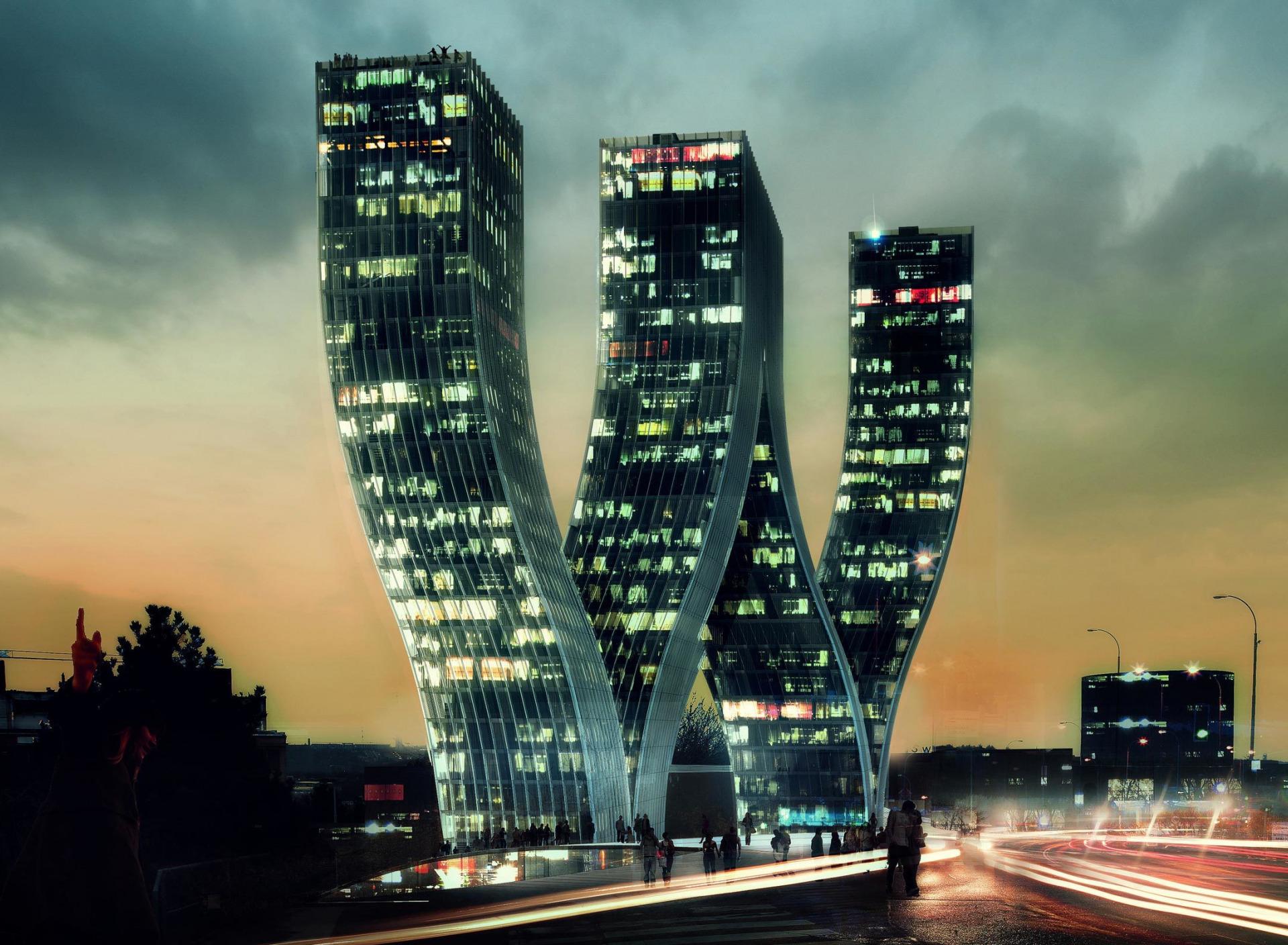 Картинки зданий разной архитектуры