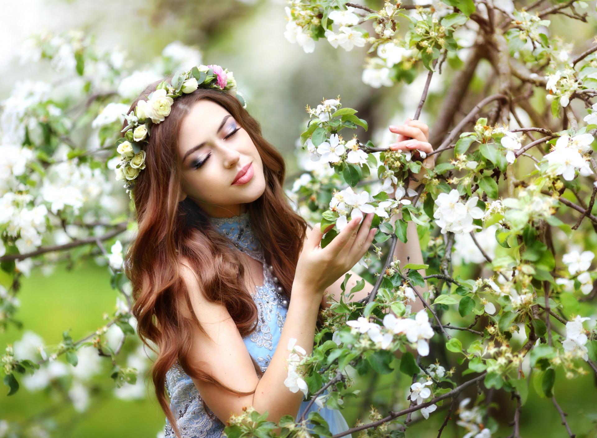 Весна для девушки картинки