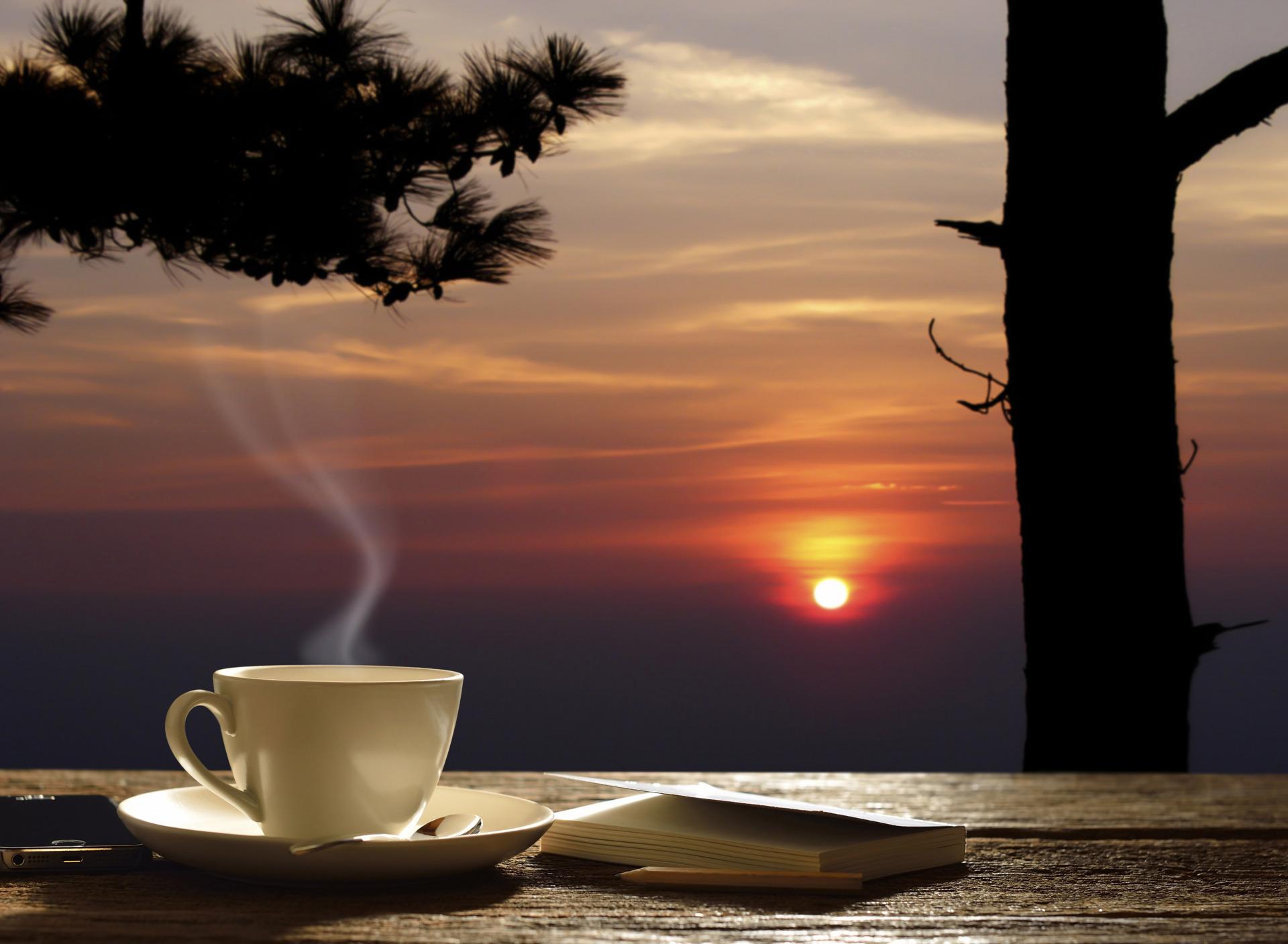 красивые картинки с добрым утром и вечером персонажами
