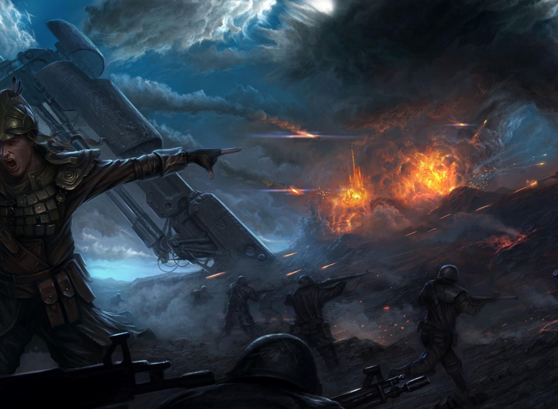Картинки фантастических войн