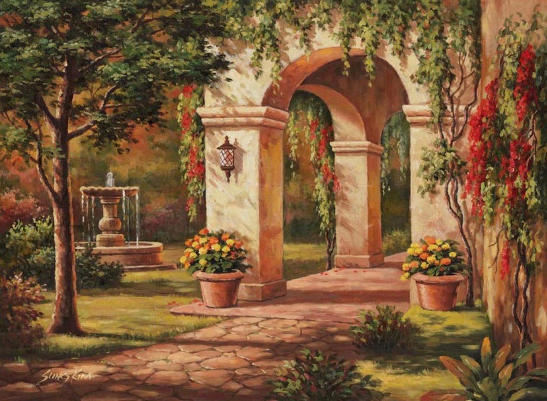 арки в картинах художников вот