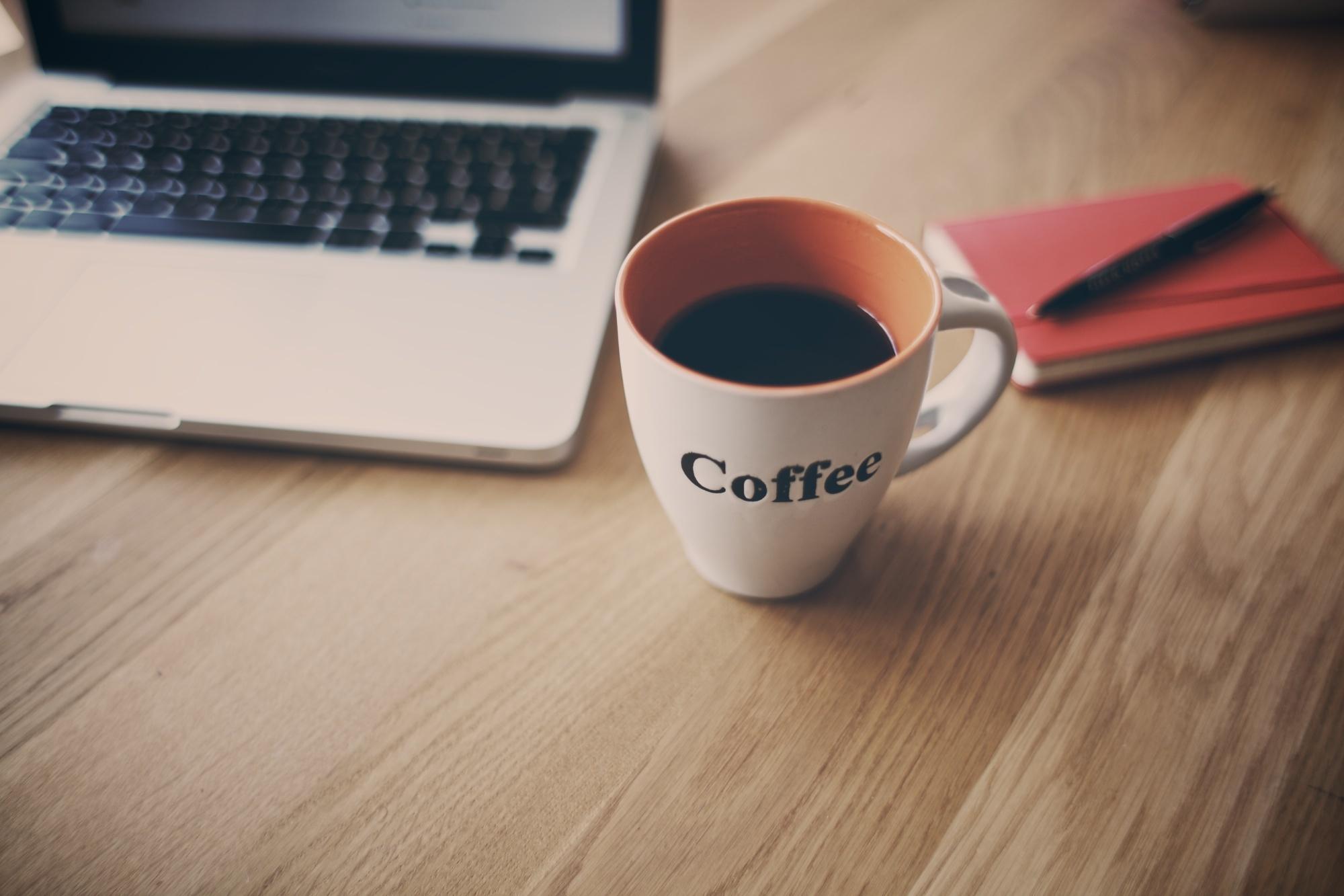 чашка кофе записка  № 2119626 без смс