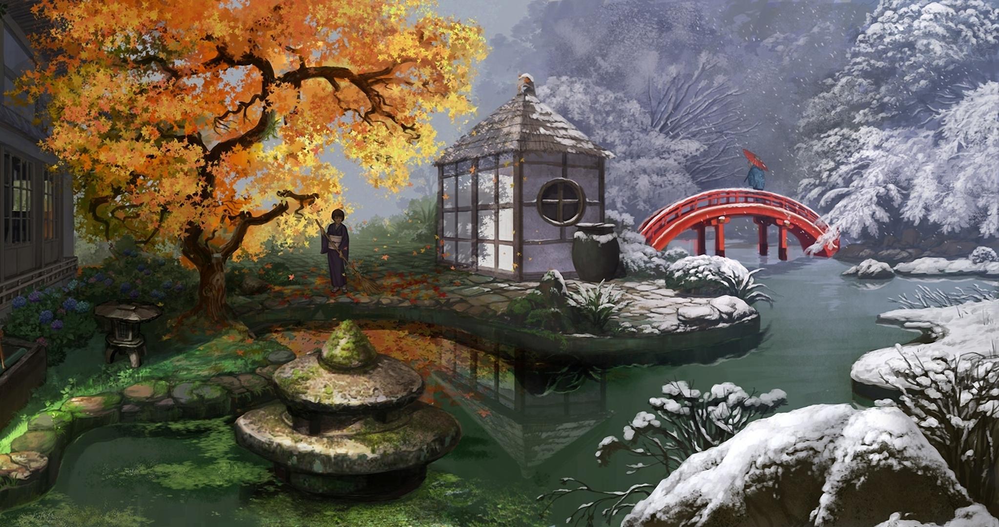 http://img2.goodfon.ru/original/2046x1080/0/82/art-mugon-devushki-osen-zima.jpg