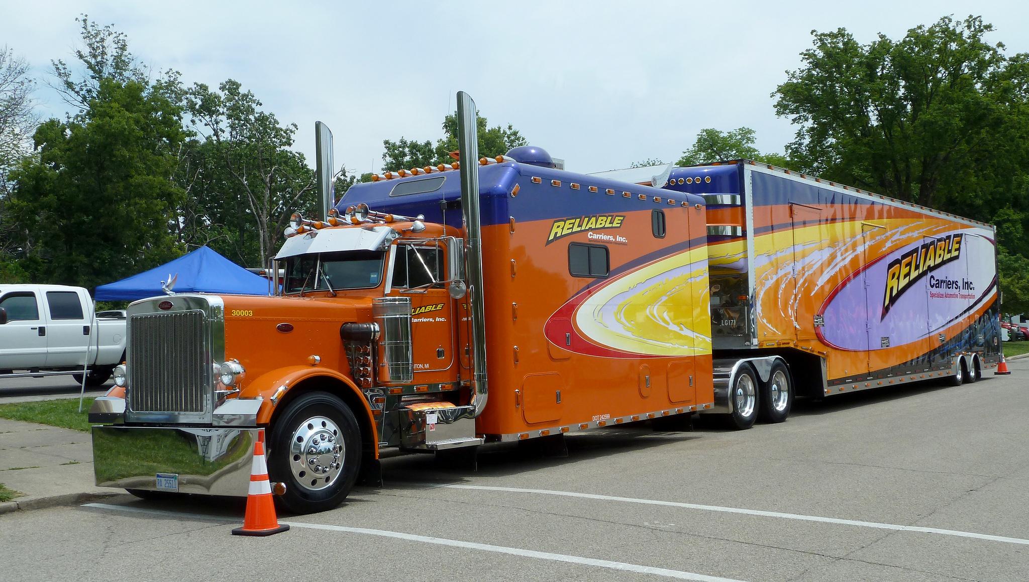 американ грузовики спальники фото