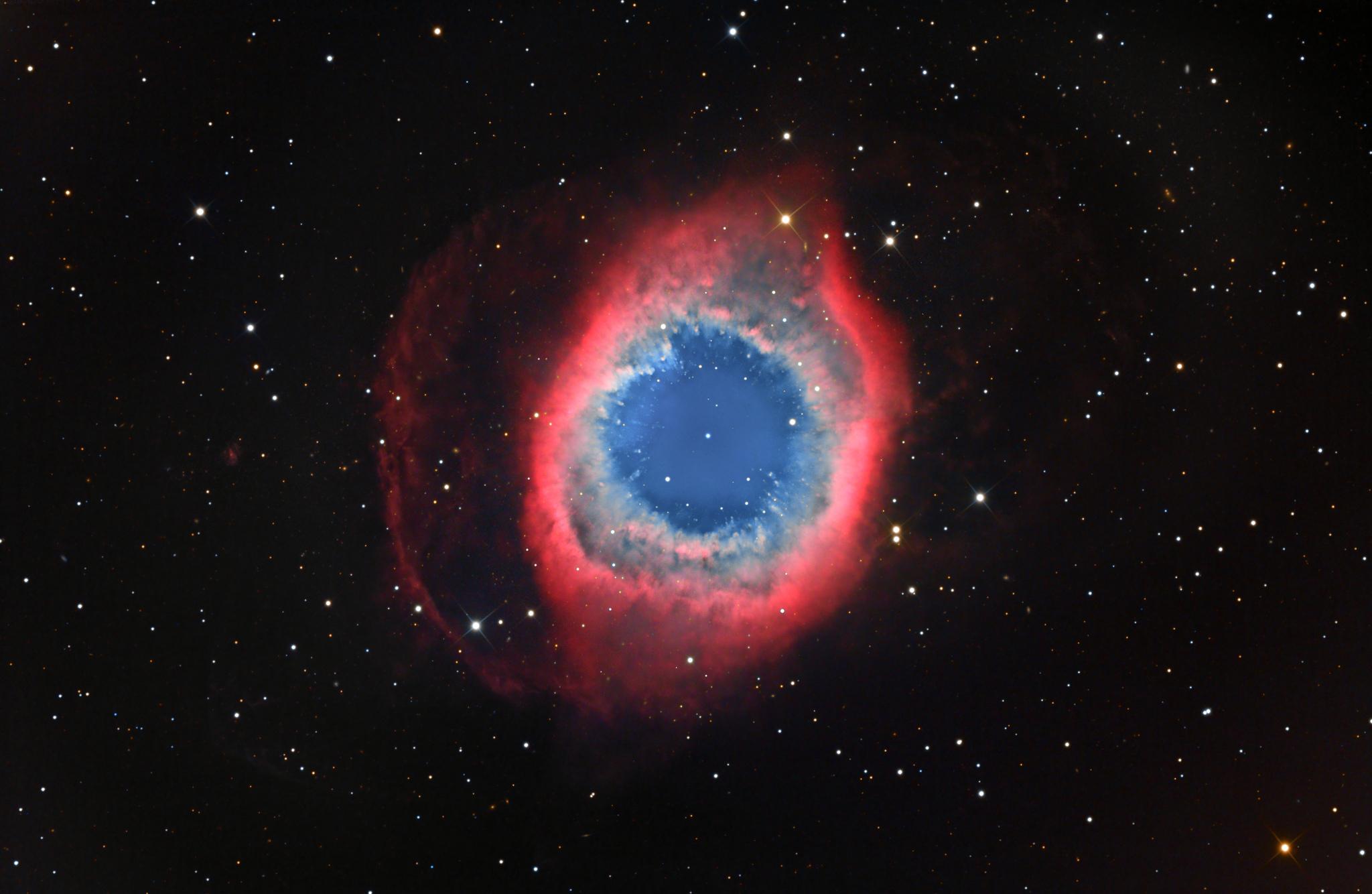 helix nebula images
