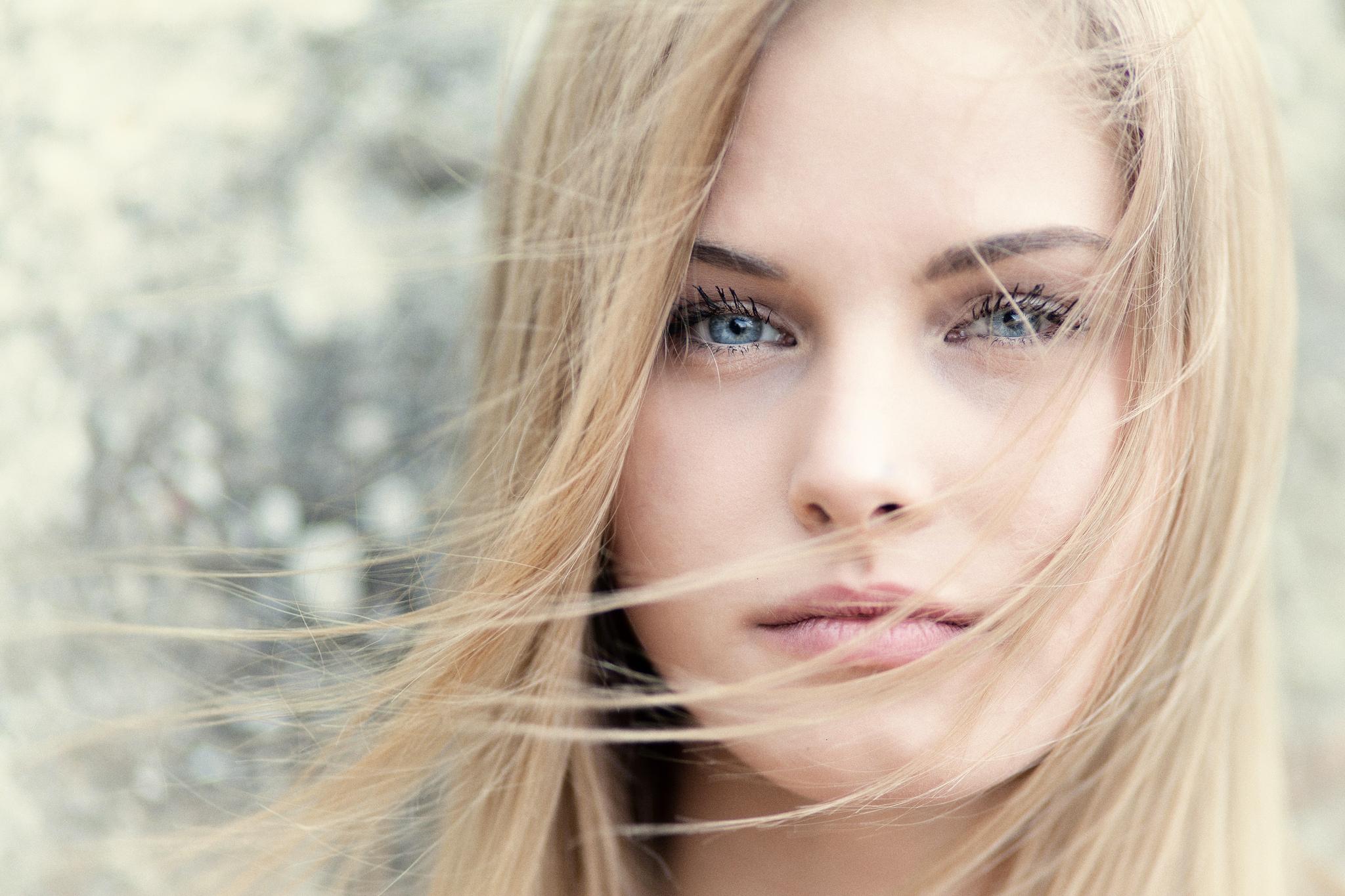 Картинки с девушкой блондинки