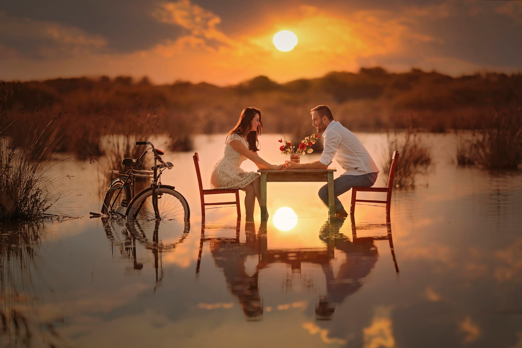 романтическая обстановка  № 1723533 бесплатно