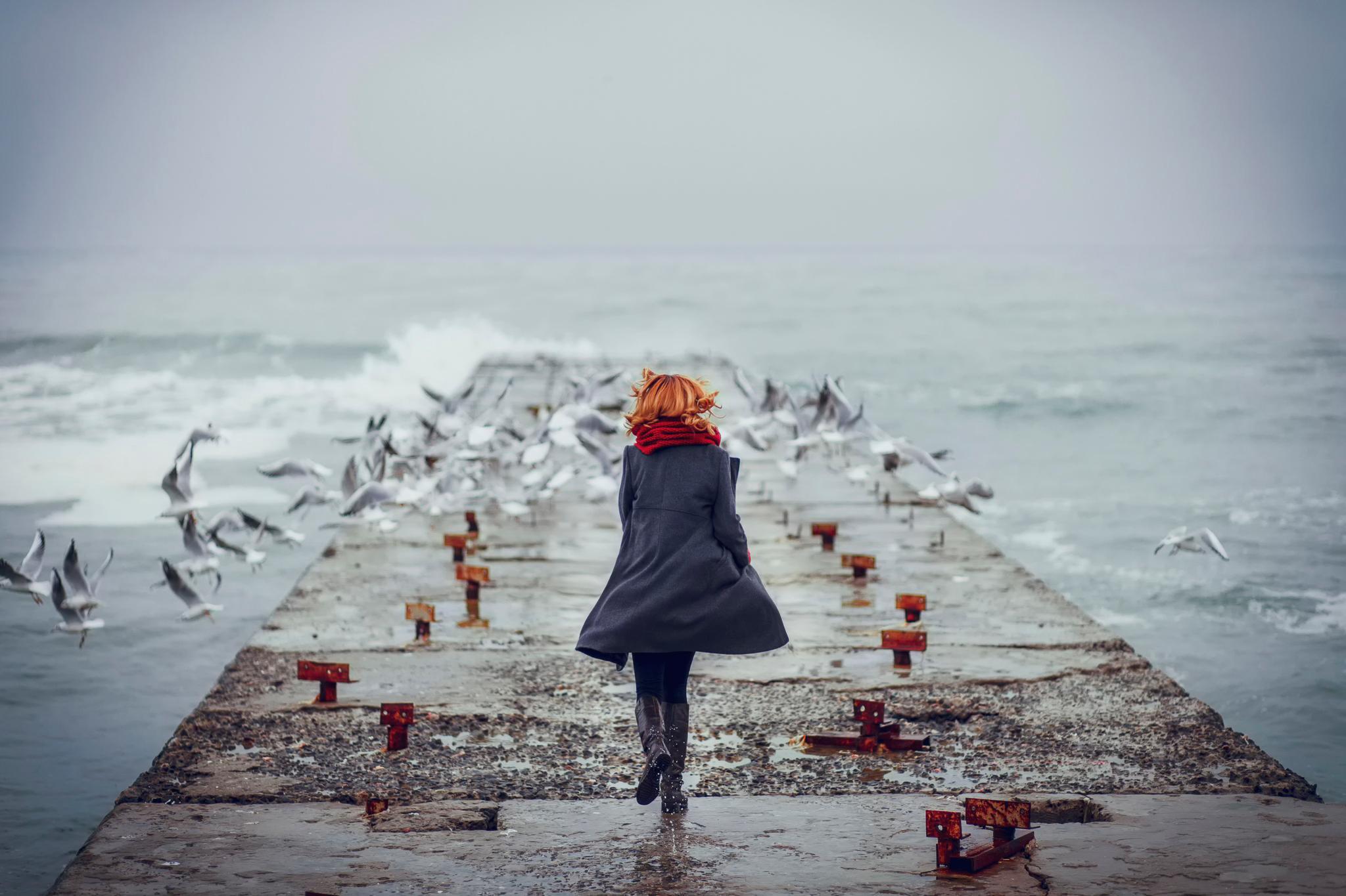 фото места для грустных картинка женщин