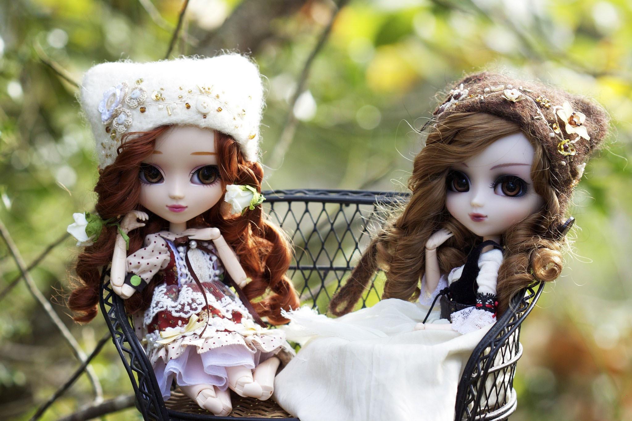 Кукольные картинки девушек, дню